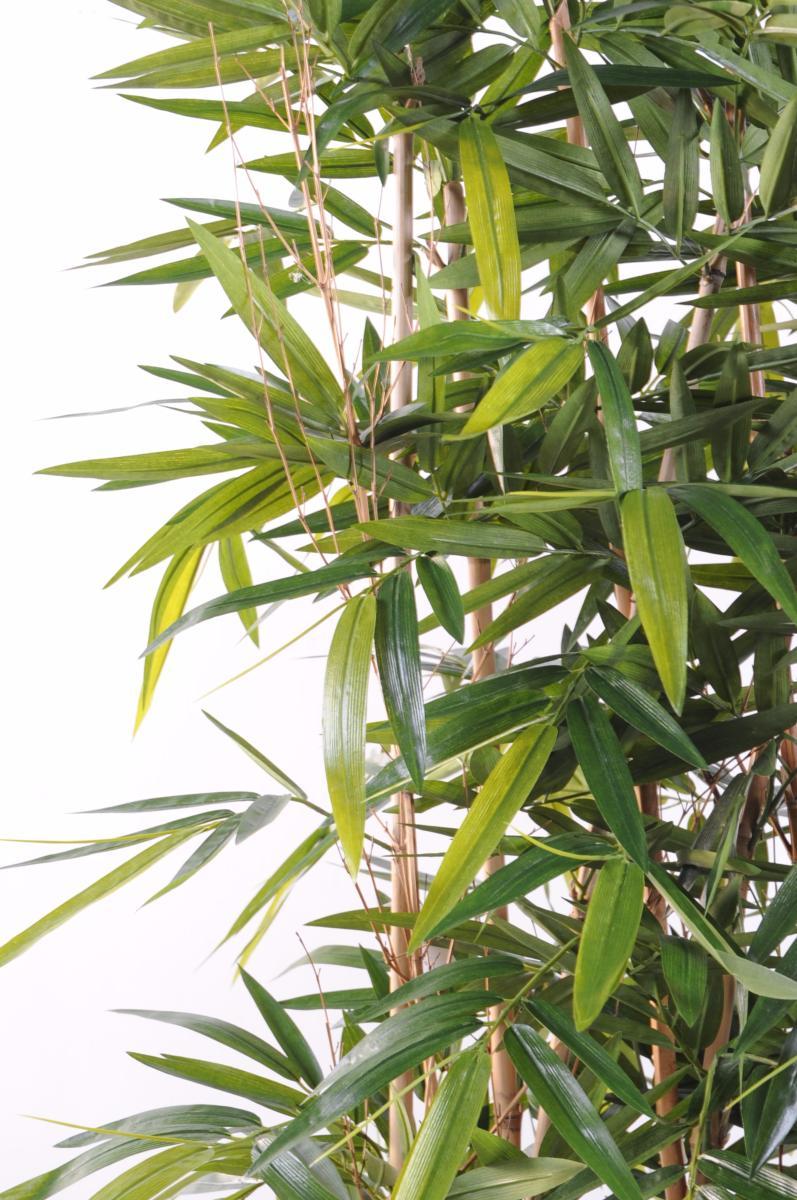 Haie Artificielle Bambou New Uv Resistant Exterieur Balcon Terrasse H 150cm Socle 95cm