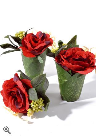composition florale artificielle gloria 18cm bordeaux santex. Black Bedroom Furniture Sets. Home Design Ideas