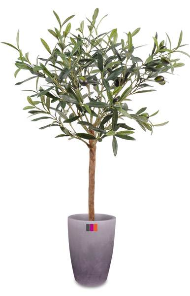 Arbre artificiel olivier plante en pot d coration pour for Plante arbre interieur