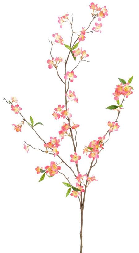 fleur artificielle branche de cerisier rose 76 fleurs cm. Black Bedroom Furniture Sets. Home Design Ideas