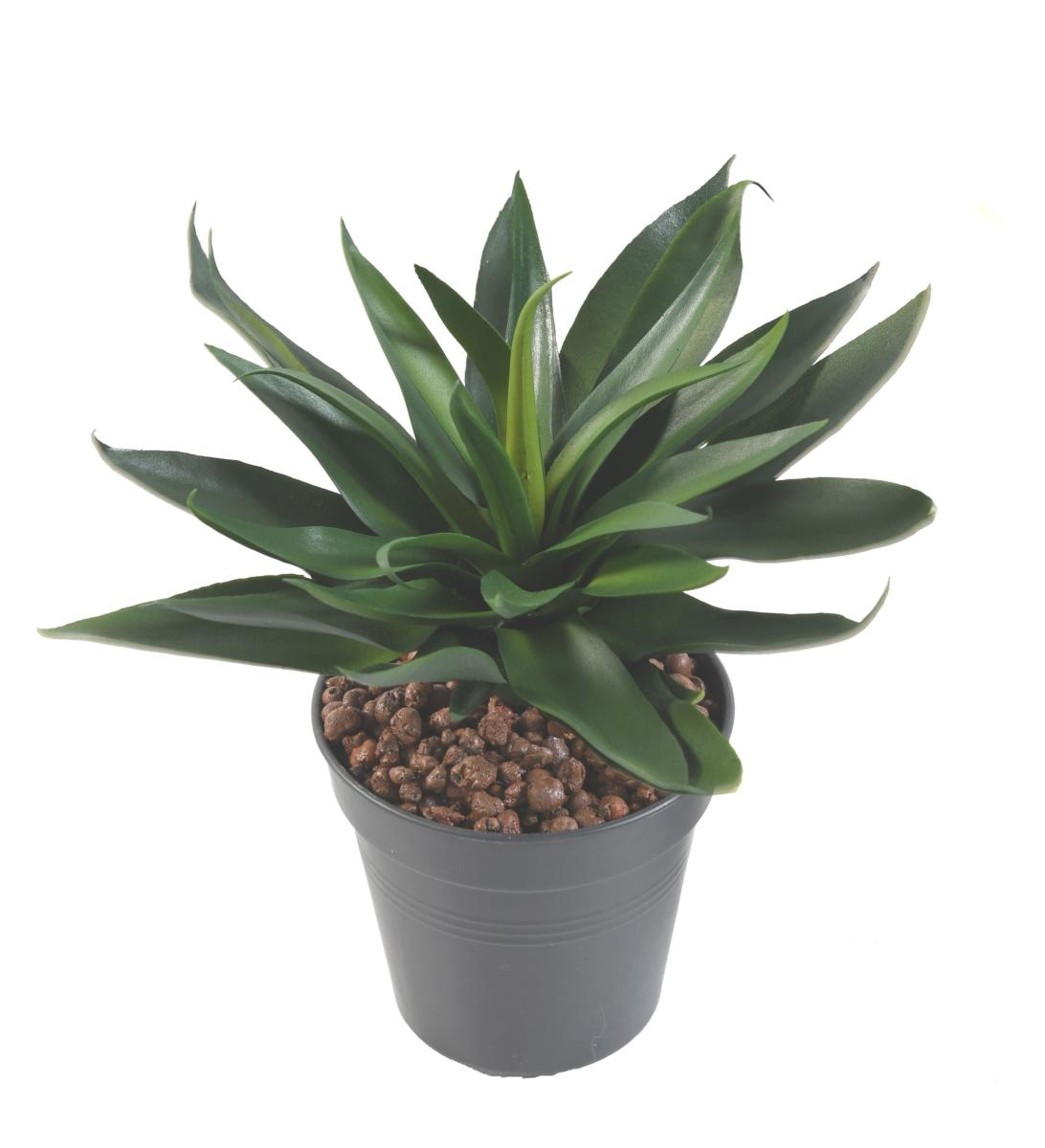 Plante artificielle agave 36 feuilles cactus artificiel for Cactus artificiel pour exterieur