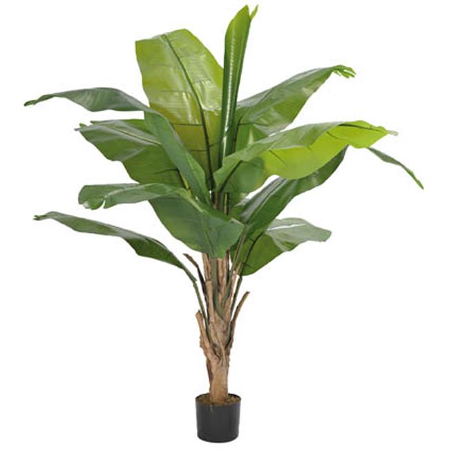 Arbres artificiels feuillages artificiels fleurs artificielles plantes artificielles - Bananier en pot ...