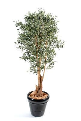 arbre fruitier artificiel olivier tronc noueux plante pour int rieur cm. Black Bedroom Furniture Sets. Home Design Ideas