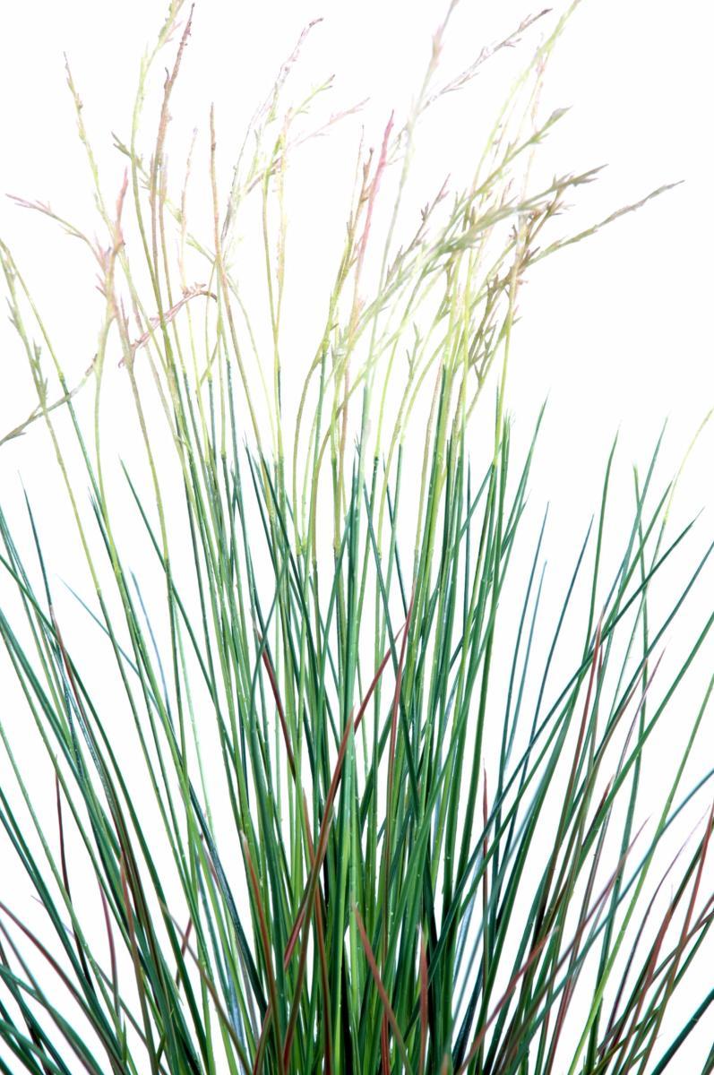 Plante artificielle gramin e touffe en pot int rieur for Plantes artificielles terrasse