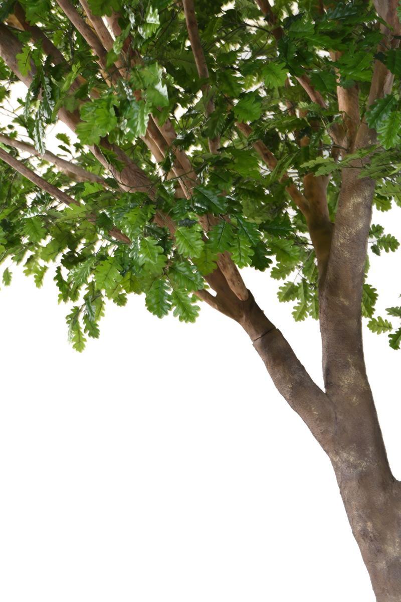 arbre forestier artificiel xl ch ne d coration d 39 int rieur cm vert. Black Bedroom Furniture Sets. Home Design Ideas