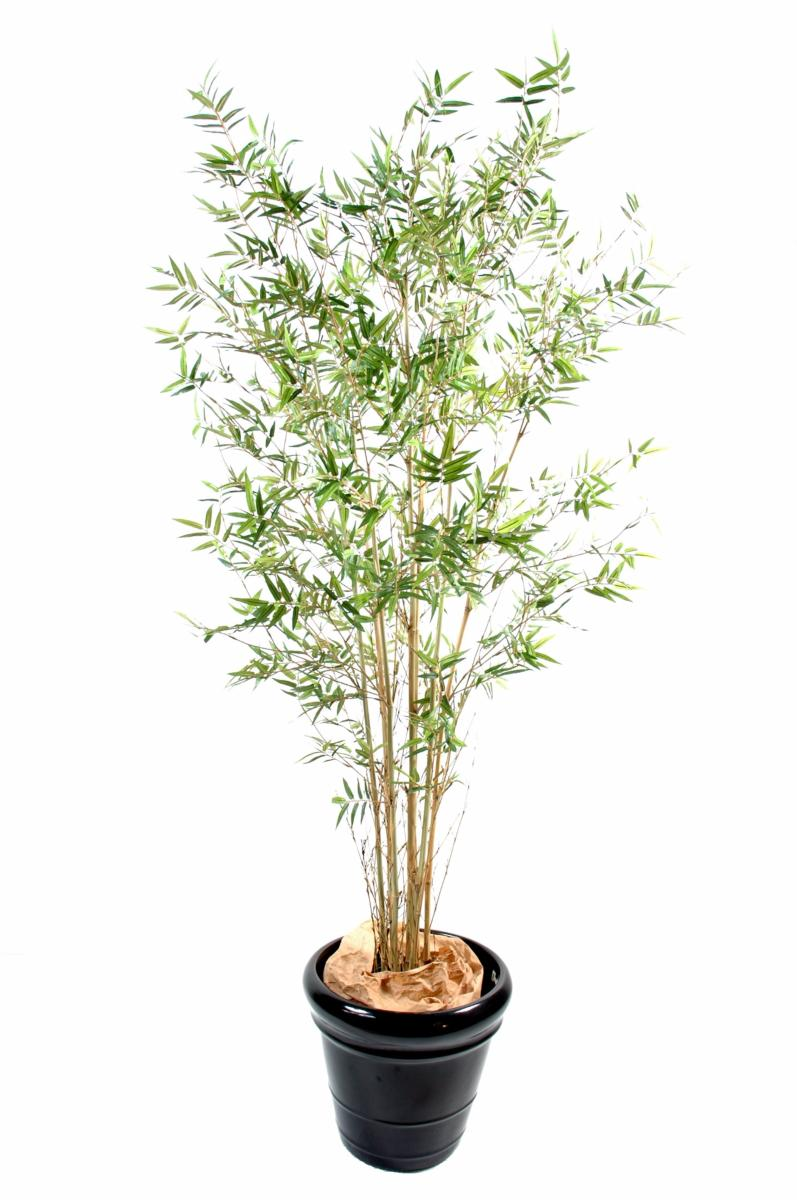 Bambou artificiel oriental new plante d 39 int rieur cm for Plante bambou interieur