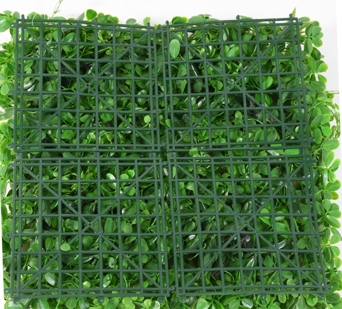 mur v g tal plaque de feuillage artificiel d coration murale h 50 cm vert. Black Bedroom Furniture Sets. Home Design Ideas