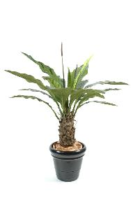 Plante artificielle Anthurium jungle king - décoration d'intérieur - H.130cm vert