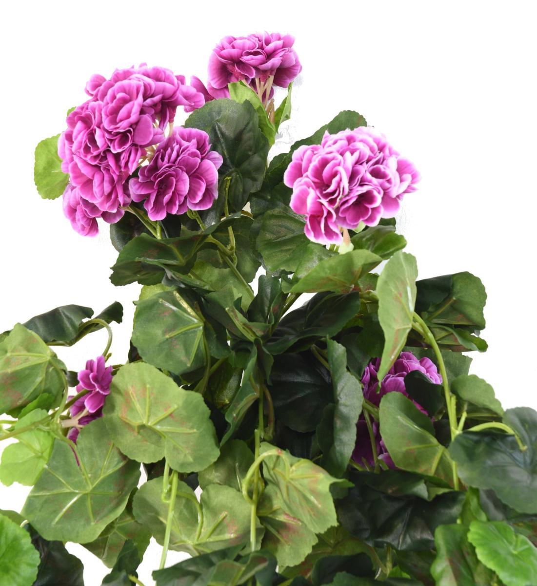 plante fleurie artificielle chute de g ranium d coration. Black Bedroom Furniture Sets. Home Design Ideas