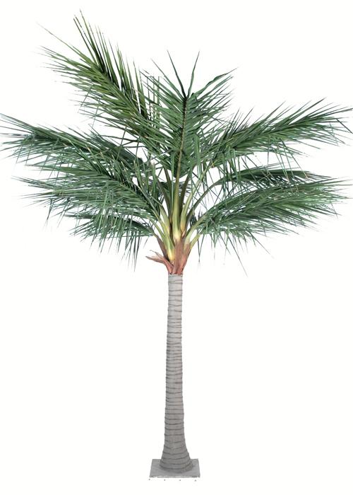 Palmier artificiel royal int rieur ext rieur cm vert for Palmier exterieur