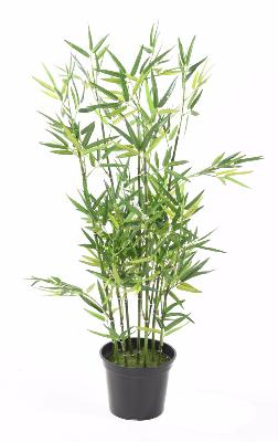 Bambou artificiel arbuste cannes vertes plante d for Acheter bambou artificiel