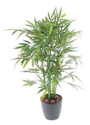 Bambou artificiel new green 120cm for Branche bambou artificiel