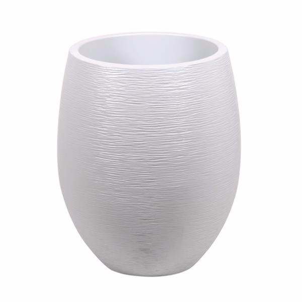 bac pour fleur pot egg graphit interieur exterieur 50. Black Bedroom Furniture Sets. Home Design Ideas