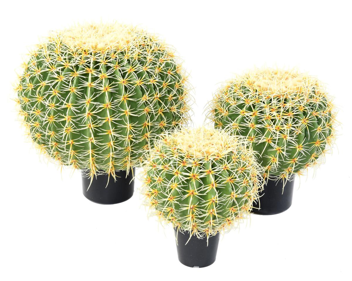cactus artificiel coussin de belle m re plante d 39 int rieur h 35 cm vert jaune. Black Bedroom Furniture Sets. Home Design Ideas