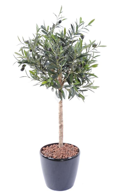 Arbre artificiel olivier new t te plante pour int rieur for Arbres artificiels interieur