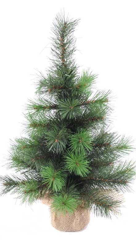Sapin no l mini vancouver plante synth tique h 60cm - Mini sapin de noel artificiel ...