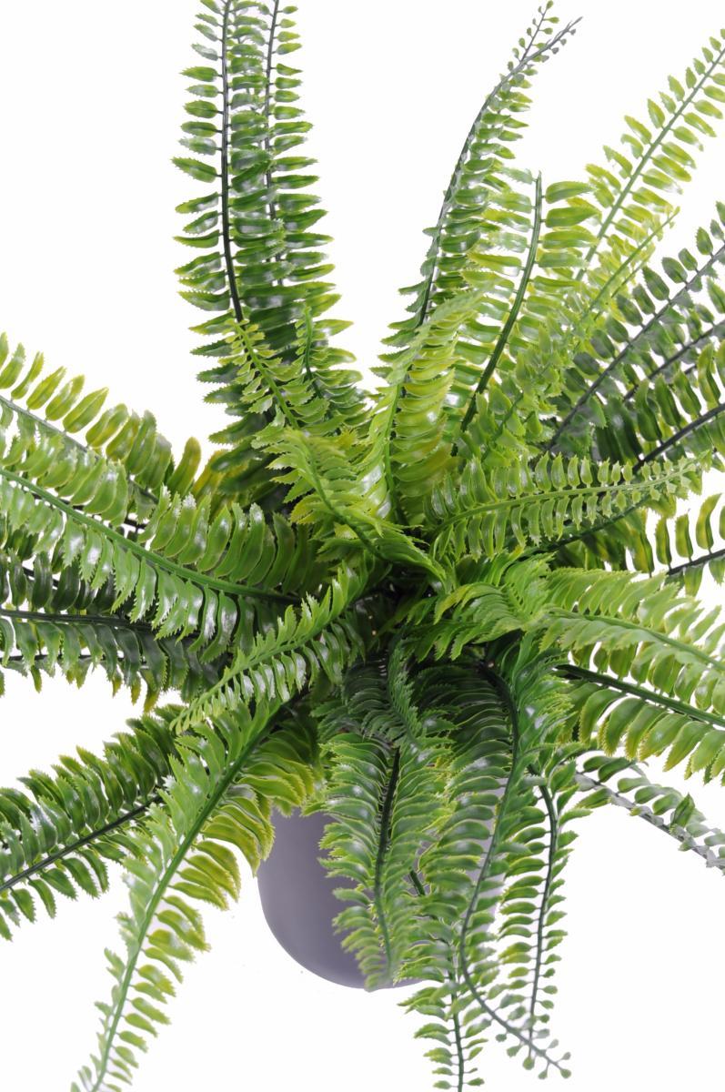 Plante artificielle foug re boston plastique en piquet - Plante artificielle pour exterieur ...