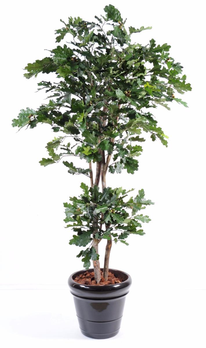 arbre forestier artificiel ch ne d coration d 39 int rieur cm. Black Bedroom Furniture Sets. Home Design Ideas