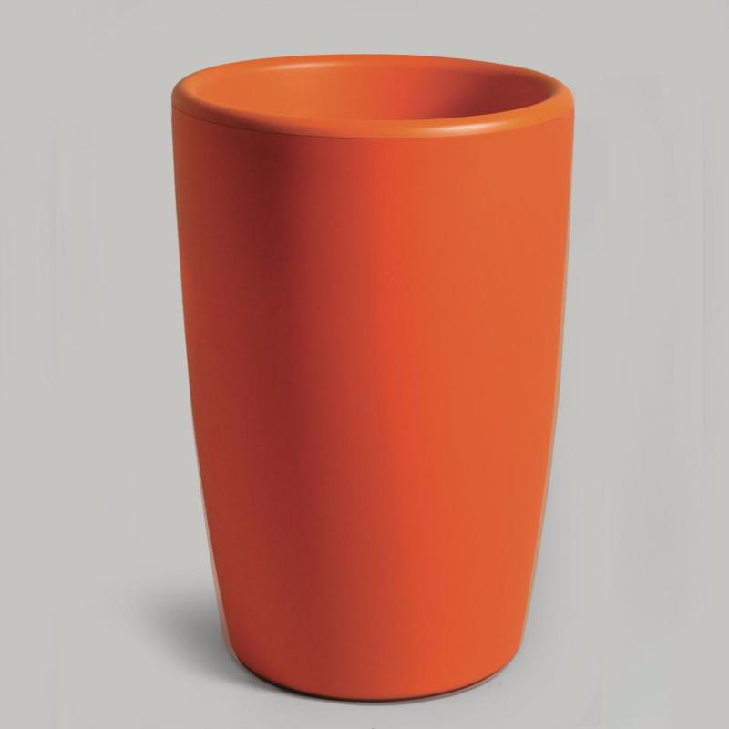 pot pour fleurs vase int rieur ext rieur x cm orange. Black Bedroom Furniture Sets. Home Design Ideas
