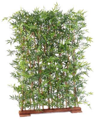 haie artificielle bambou japanese feuillage dense plastique uv 150cm. Black Bedroom Furniture Sets. Home Design Ideas