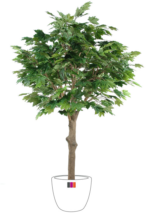 Arbre forestier artificiel platane t te int rieur cm for Arbres artificiels interieur