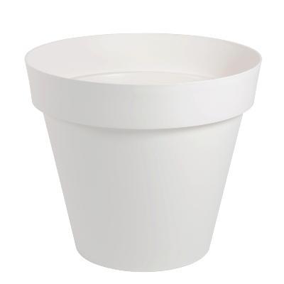 Pot pour fleur toscane rond int rieur ext rieur 80 cm for Bac lierre plastique