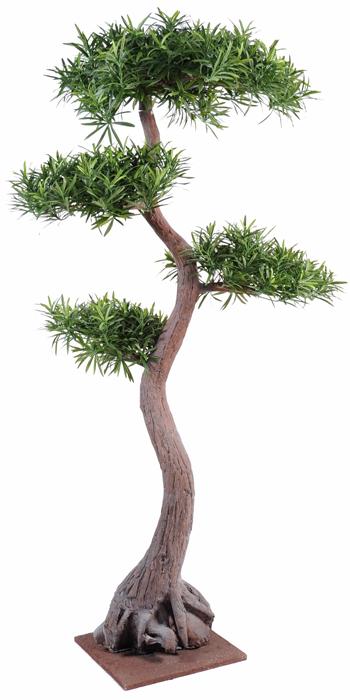 Plante artificielle bonsa podocarpus 4 160cm - Grande plante artificielle pas cher ...