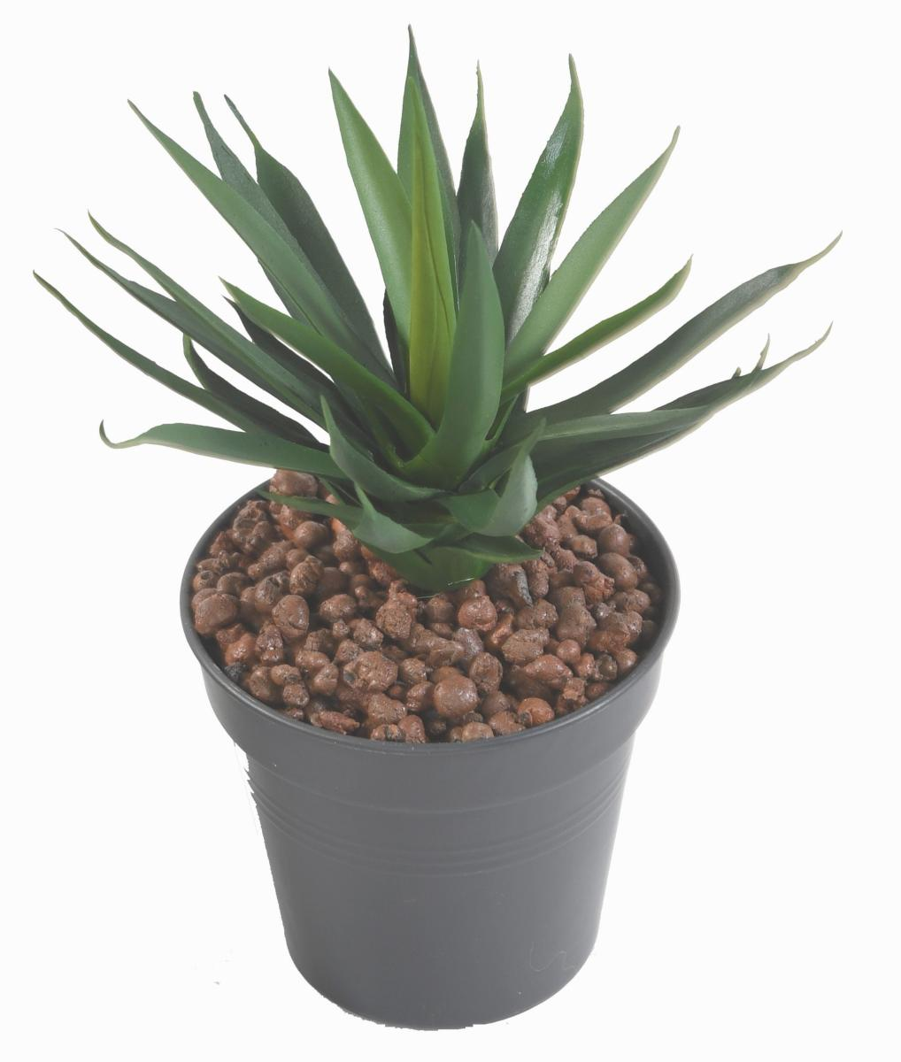 Plante artificielle agave en piquet cactus artificiel for Belle plante artificielle