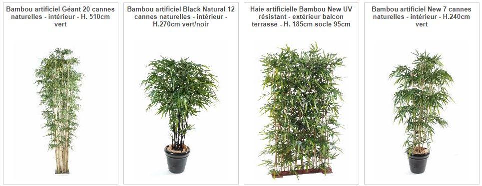 Bambous artificiels exterieur location bambou artificiel for Palmier artificiel ikea