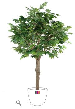 arbre forestier artificiel platane t te int rieur cm. Black Bedroom Furniture Sets. Home Design Ideas