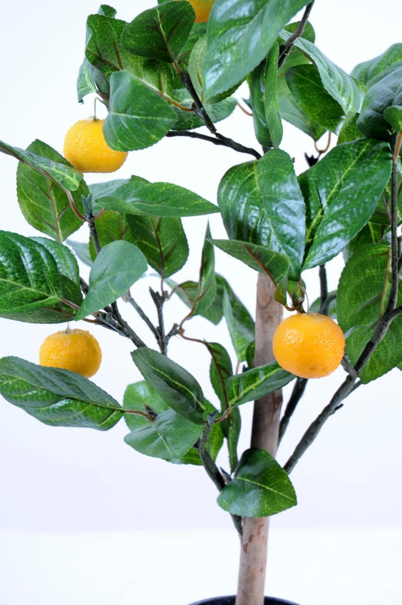 Arbre artificiel fruitier oranger mini en pot int rieur for Arbre decoratif interieur