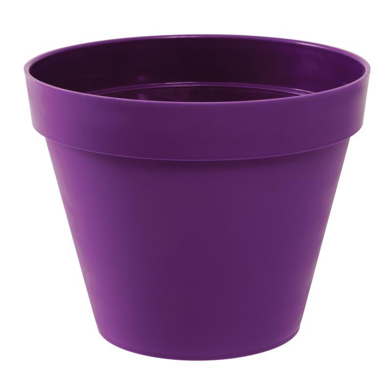 Pot pour fleur toscane rond int rieur ext rieur 100 cm for Bac lierre plastique