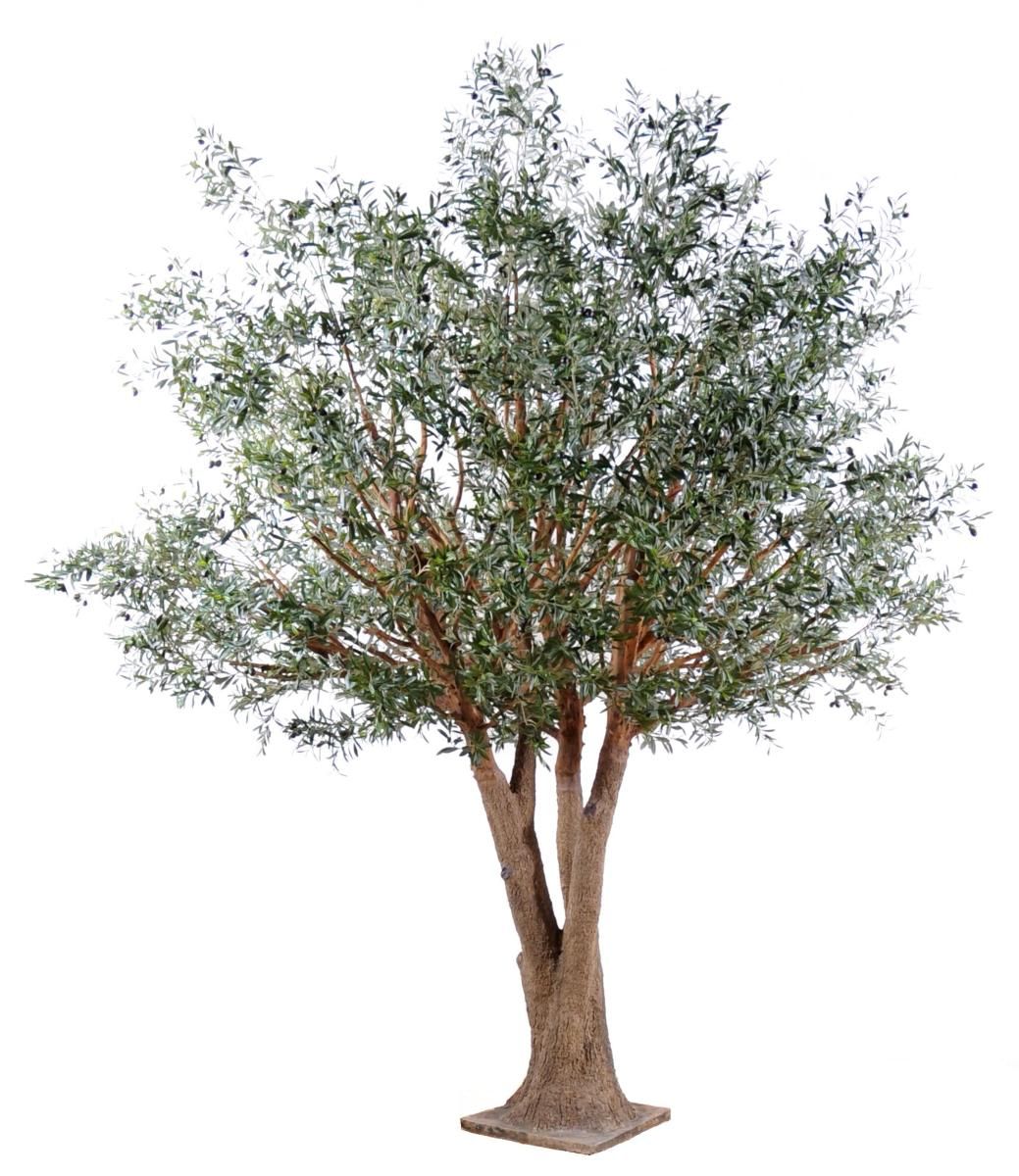 Arbre artificiel olivier new tree plante pour int rieur for Plante arbre interieur