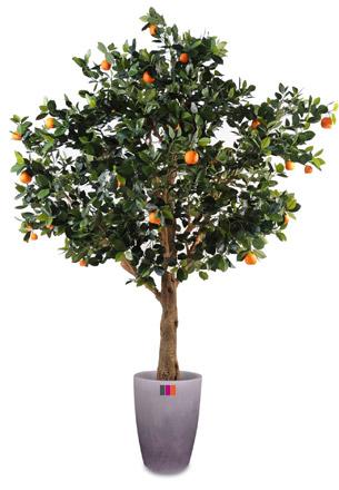 Arbre artificiel fruitier oranger int rieur cm for Arbres artificiels haut de gamme