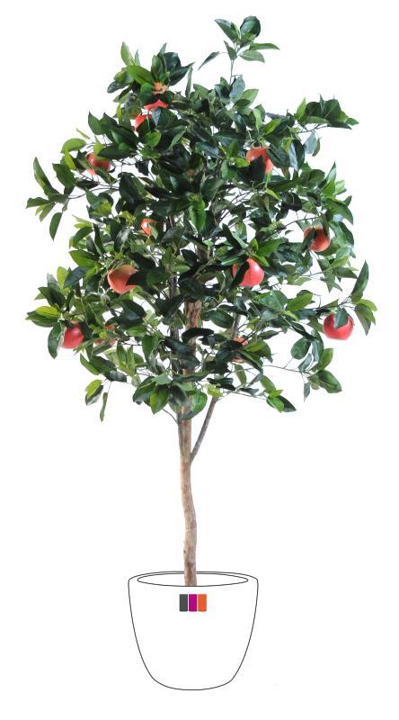 Arbre fruitier artificiel pommier plante pour int rieur for Arbres artificiels haut de gamme