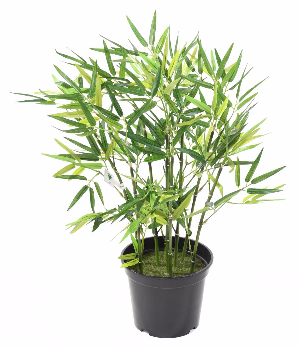 Bambou artificiel arbuste cannes vertes plante d for Arbuste artificiel exterieur