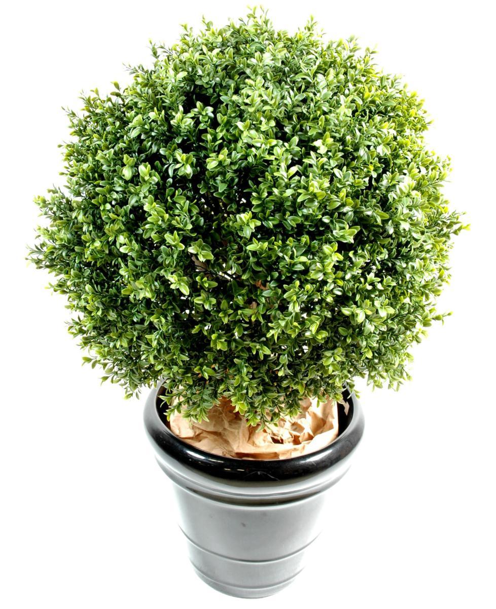plante artificielle buis boule int rieur ext rieur h. Black Bedroom Furniture Sets. Home Design Ideas