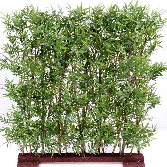 Haie artificielle bambou oriental feuillage dense for Bambous artificiels pour exterieur