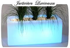 Jardini re lumineuse for Bac lierre plastique