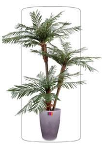 Palmier artificiel for Fausse plante palmier