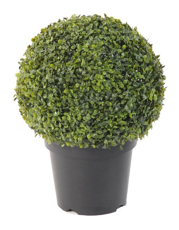 plante artificielle buis boule en pot int rieur. Black Bedroom Furniture Sets. Home Design Ideas