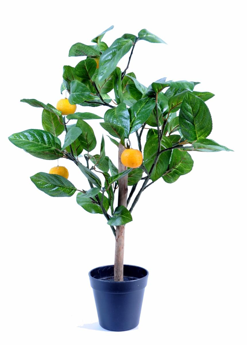 Arbre artificiel fruitier oranger mini en pot int rieur for Arbres artificiels interieur