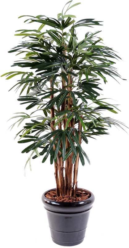 Palmier artificiel raphis lady 7 cannes plante for Bambou synthetique exterieur