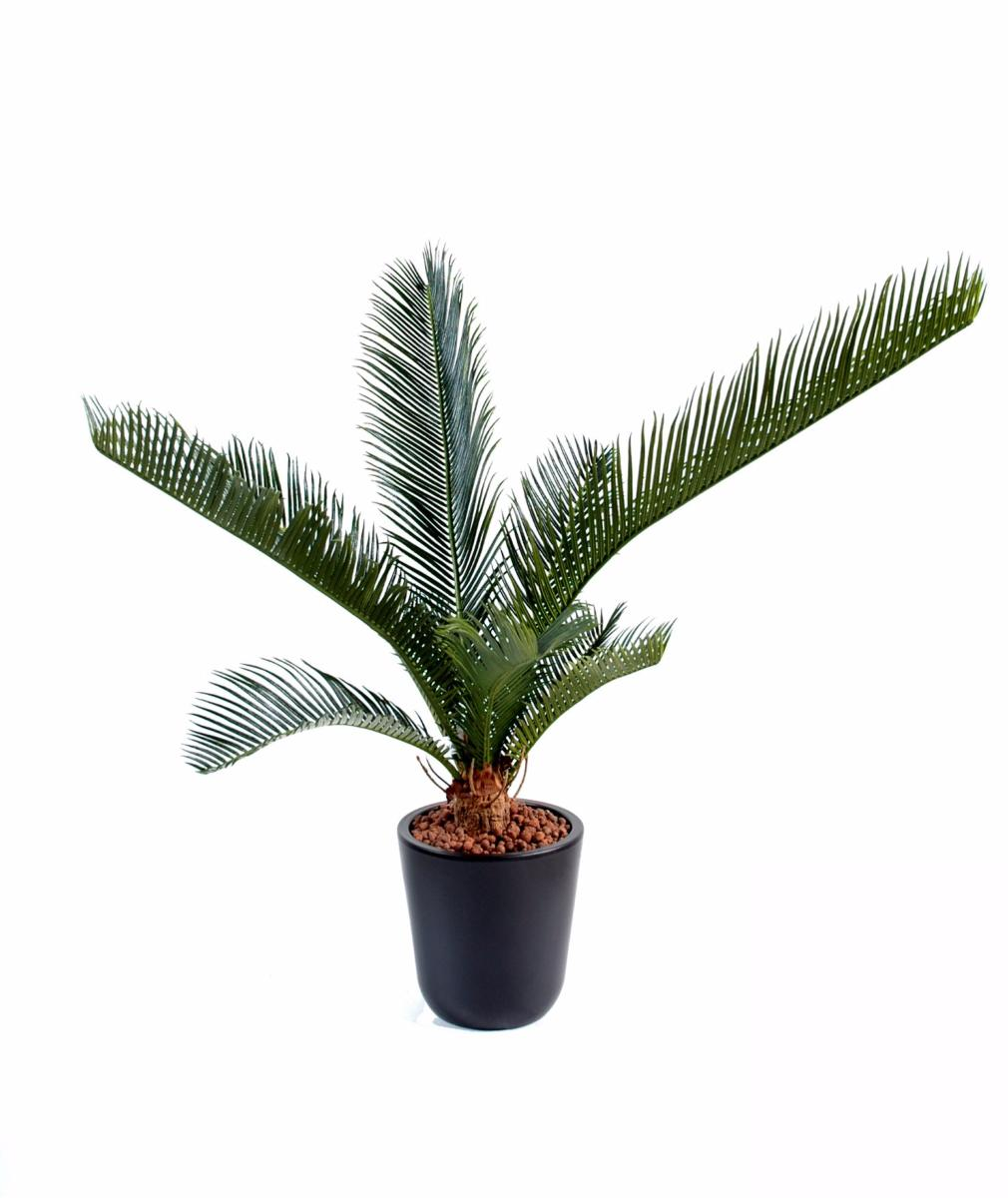Palmier artificiel cycas baby 10 feuilles int rieur for Palmiers artificiels