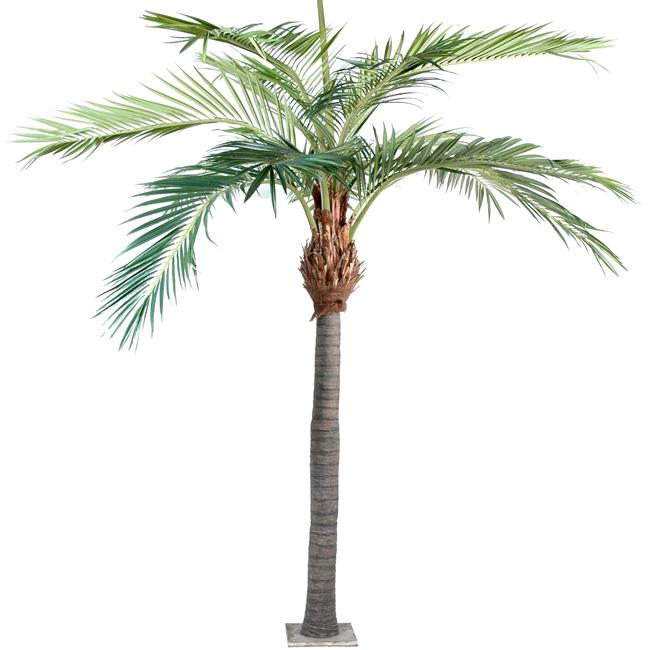 Palmier luxe fibre de coco plante artificielle d for Plante artificielle palmier