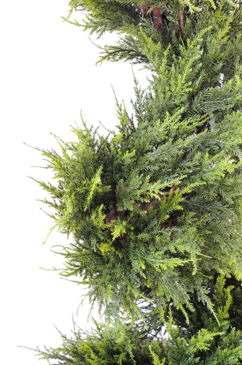 plante artificielle cypres spirale int rieur ext rieur. Black Bedroom Furniture Sets. Home Design Ideas