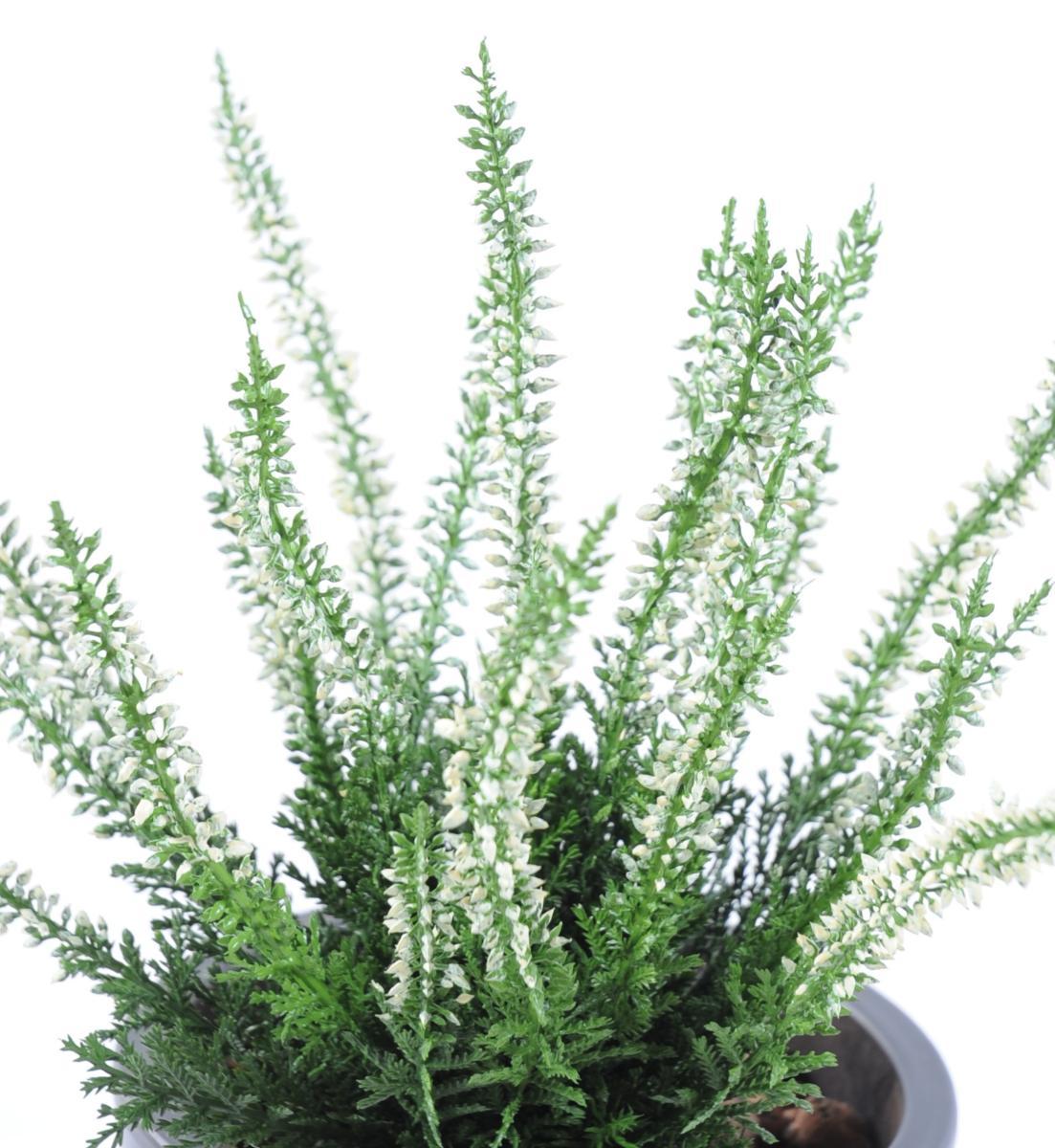 plante artificielle fleurie bruy re plastique en piquet. Black Bedroom Furniture Sets. Home Design Ideas