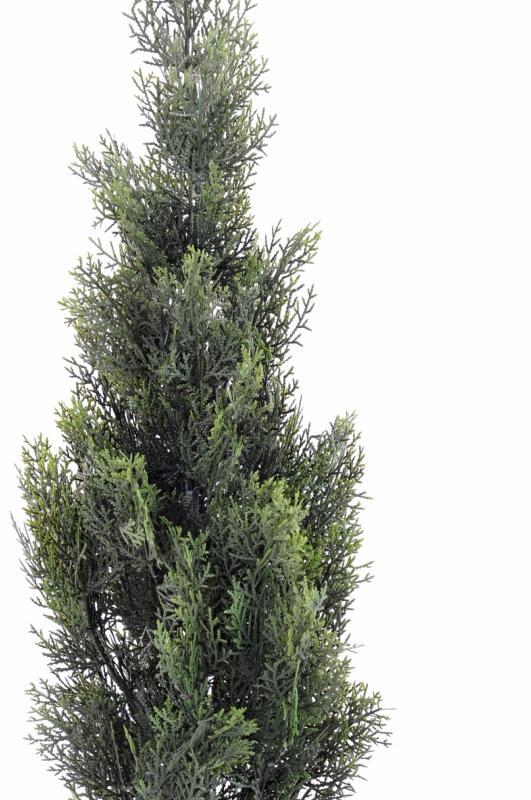 arbuste artificiel cypr s mini int rieur ext rieur h 93 cm vert. Black Bedroom Furniture Sets. Home Design Ideas