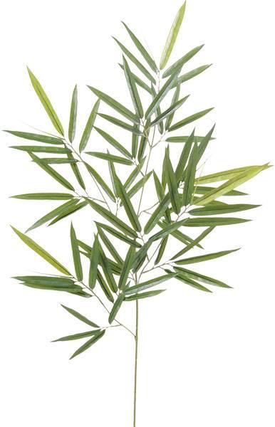 branche artificielle bambou shiroshima feuillage panach int rieur h 81 cm vert cr me. Black Bedroom Furniture Sets. Home Design Ideas