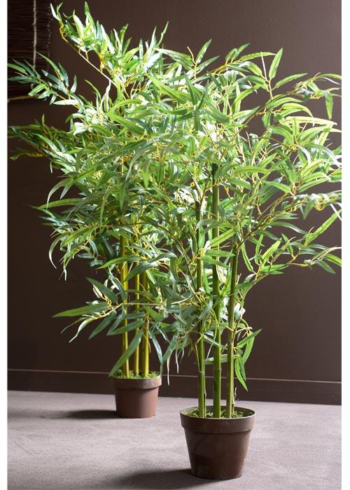 Bambou 120cm - Haie bambou artificiel exterieur ...